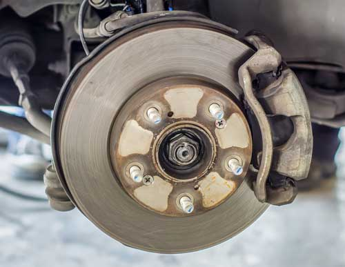 brake repair of caliper