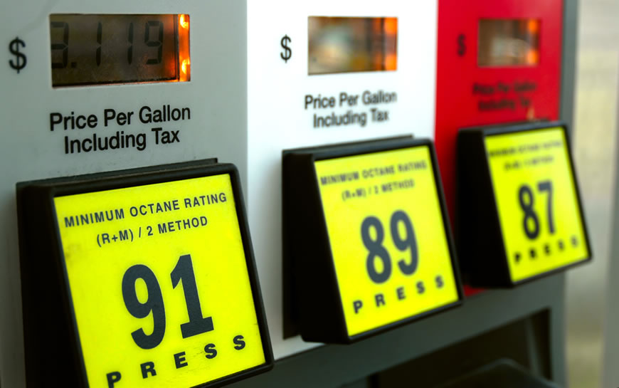 premium level gas